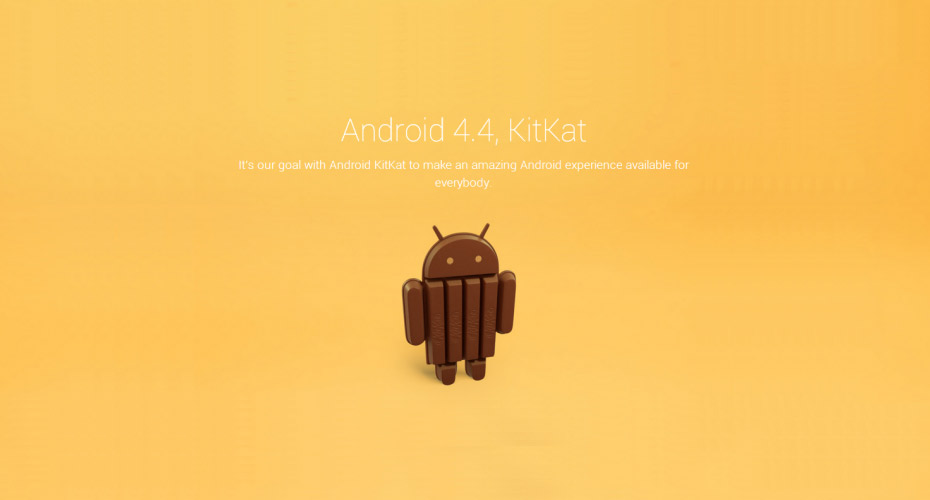 kitkat e android